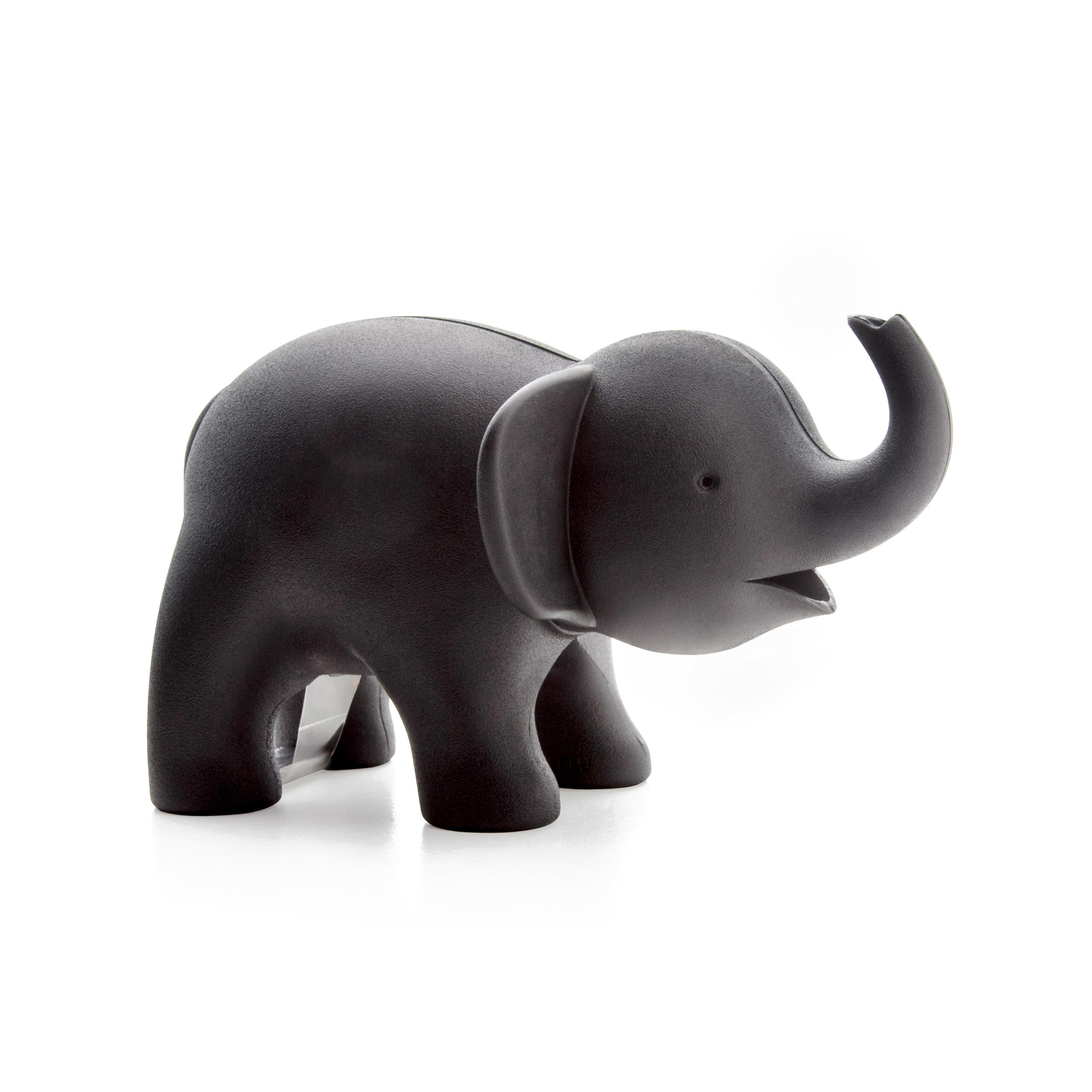 【4/28~6/18畢業季9折優惠】QUALY 小象噴水 膠帶組 黑
