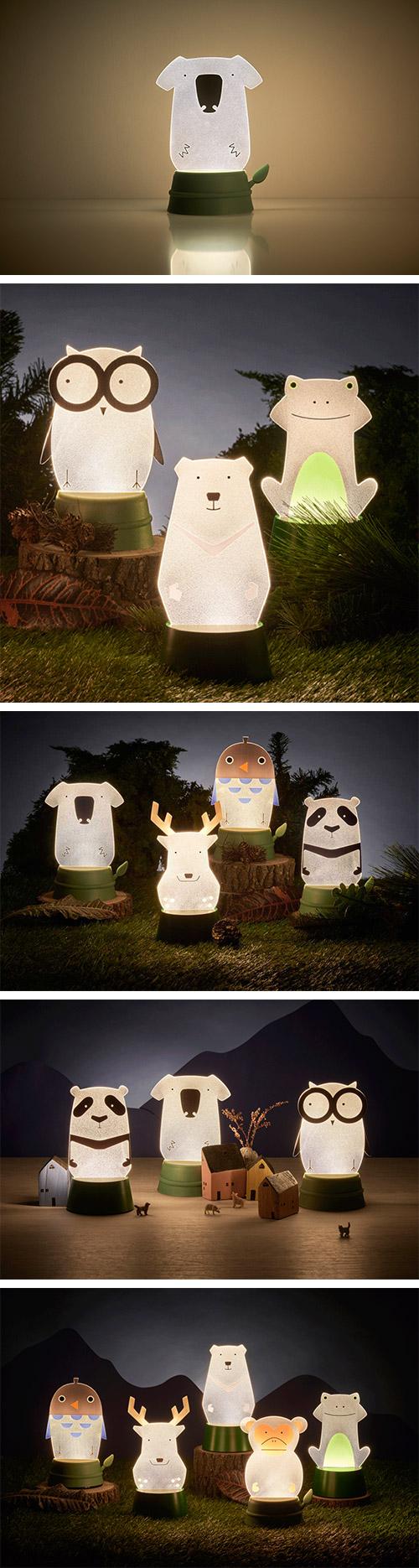 Xcellent LED 可愛夜燈時光派對 無尾熊