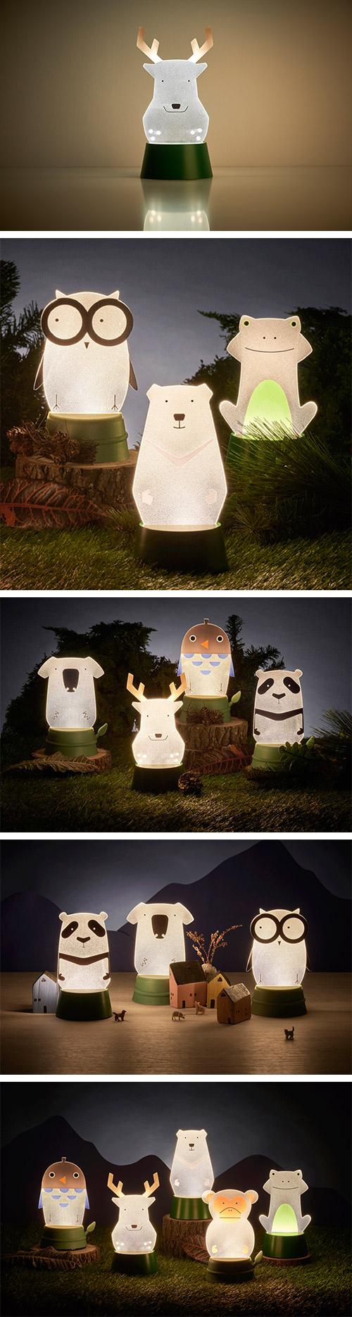 Xcellent LED 可愛夜燈時光派對 鹿