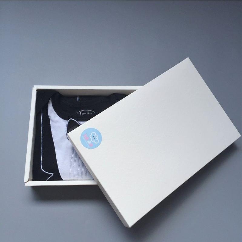 美國FMC X Hipsterkid 男嬰禮盒 - 李傲納多雅痞版 (連身衣+奶嘴) 燕尾服衣 (3個月) 紳士鬍