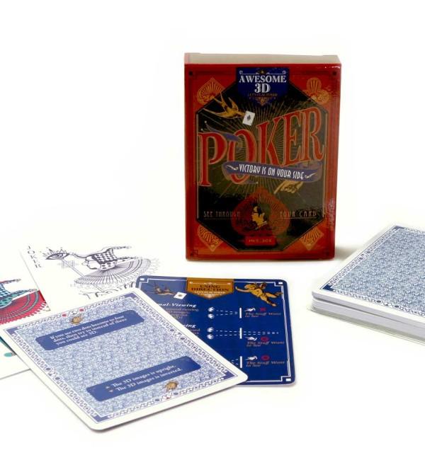 賽先生科學工廠 3D透視撲克牌(自)