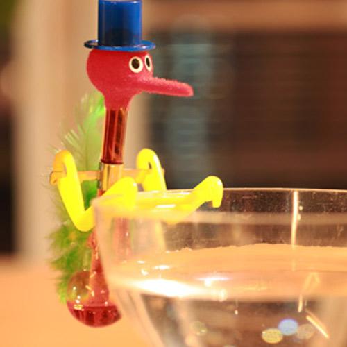 賽先生科學工廠 喝水鳥雞尾酒杯 (永動鳥)