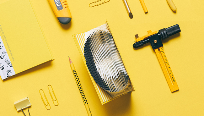 賽先生科學工廠 3D字母摺紙筆記本 粉紅(自)