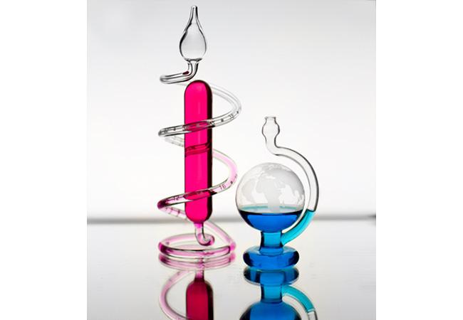 賽先生科學工廠 玻璃氣壓球 (晴雨儀) 迷你版(自)