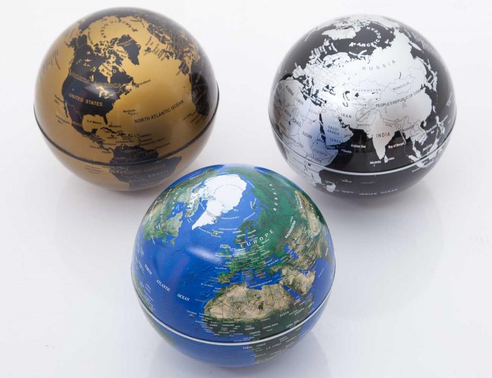 賽先生科學工廠 自轉地球儀 地球藍(自)