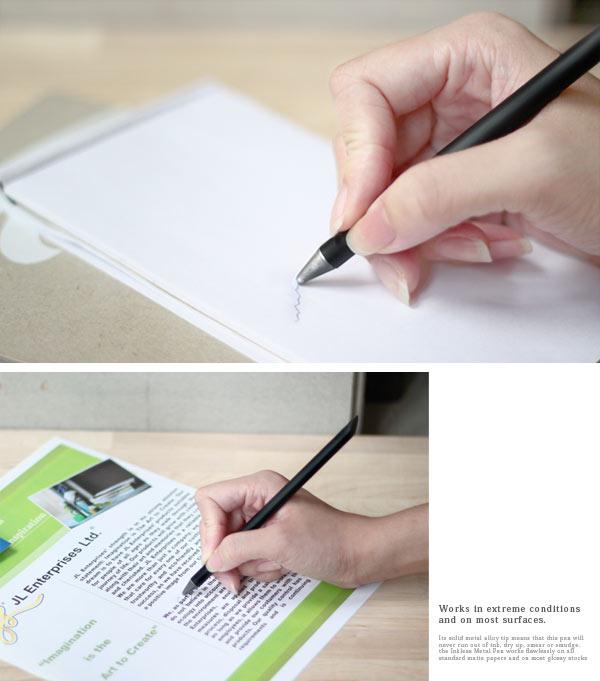 賽先生科學工廠 Beta Pen 無墨金屬筆 霧銀