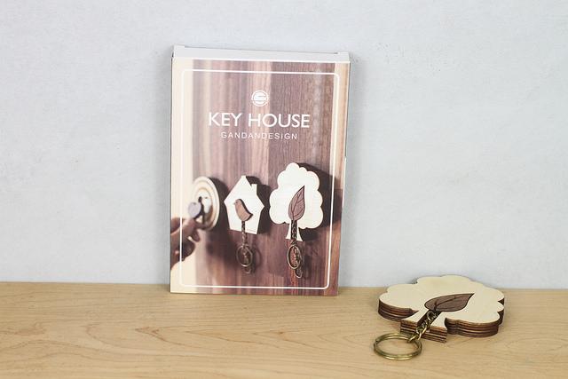 附有專屬KEY HOUSE紙盒包裝