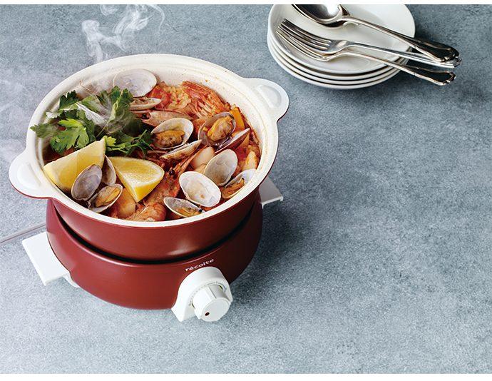 recolte Pot Duo fete 調理鍋 貴族紅