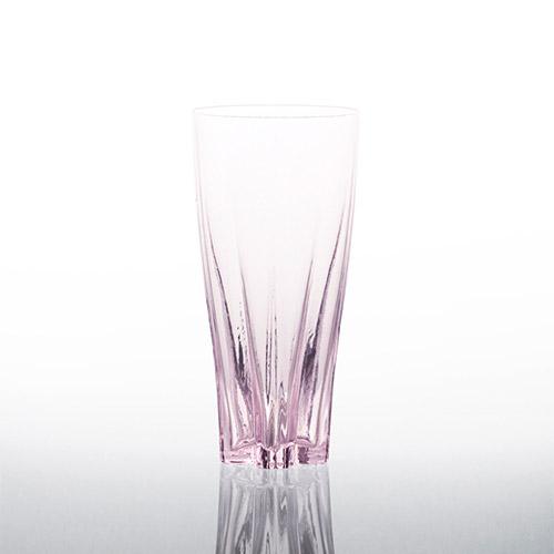 日本 Perrocaliente SAKURASAKU 櫻花杯 雙入同款同色 比爾森式啤酒杯 櫻花粉