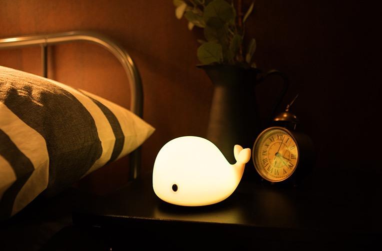 【5/27~6/2浪漫冬季特價】創意小物館 鯨魚療癒小夜燈