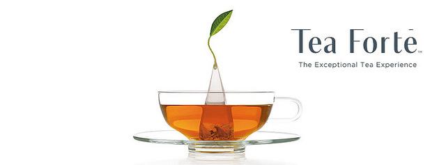 Tea Forte 20入金字塔型絲質茶包 茉莉綠茶