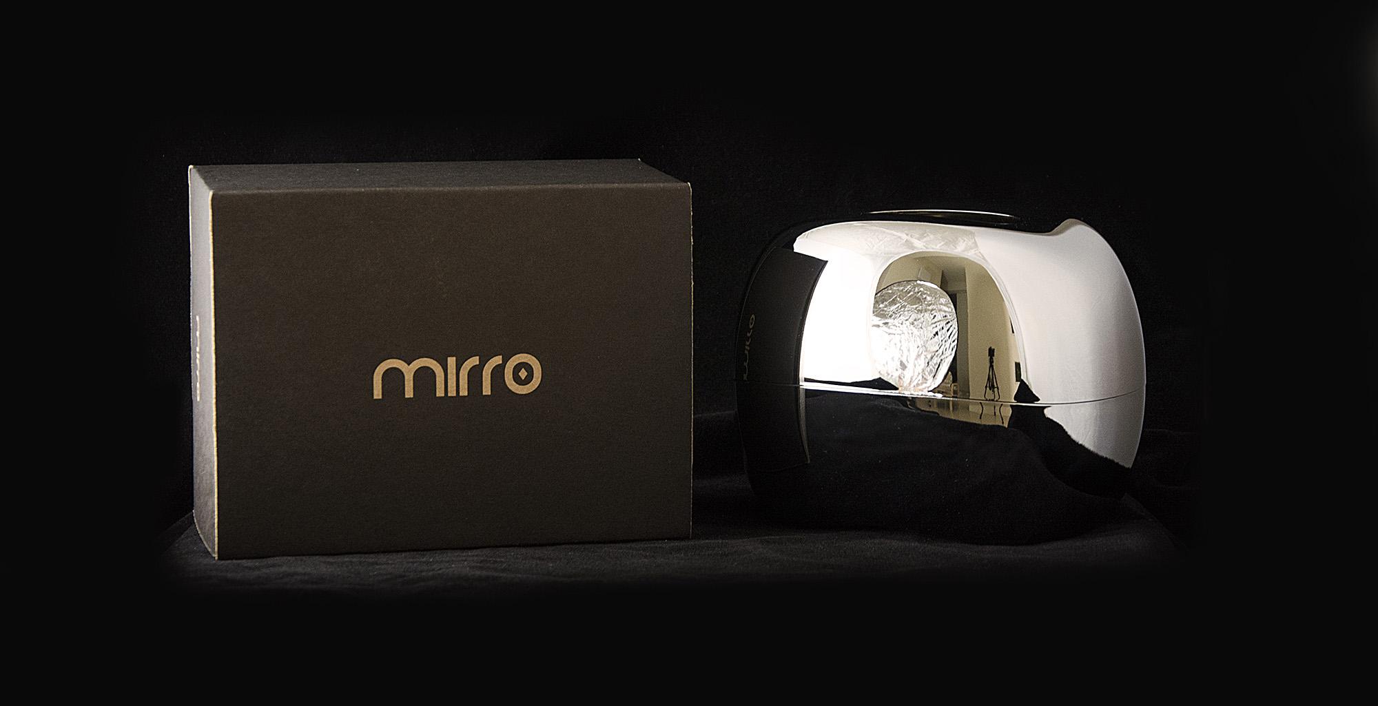 Mordeco MIRRO 面紙燈 金