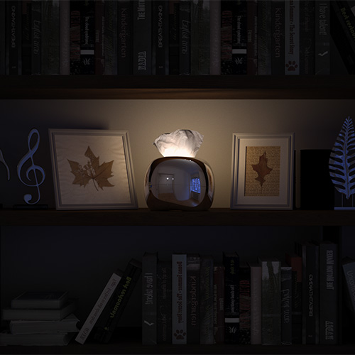 Mordeco MIRRO 面紙燈 銀
