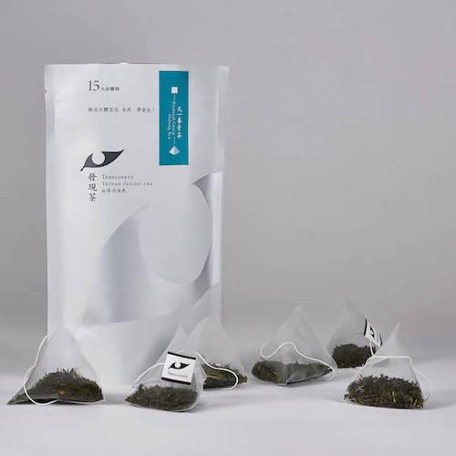 Teascovery 發現茶 熱泡立體茶包 又一春青茶品嘗袋