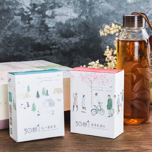 Teascovery 發現茶 發現.真時 禮盒 冷泡又一春青茶&尋尋覓蜜紅