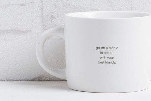 商品細節看這裡:松鼠與鳥馬克杯的幸福箴言