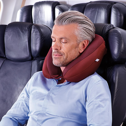 Go Travel 雙層可調式頸枕(藍色)