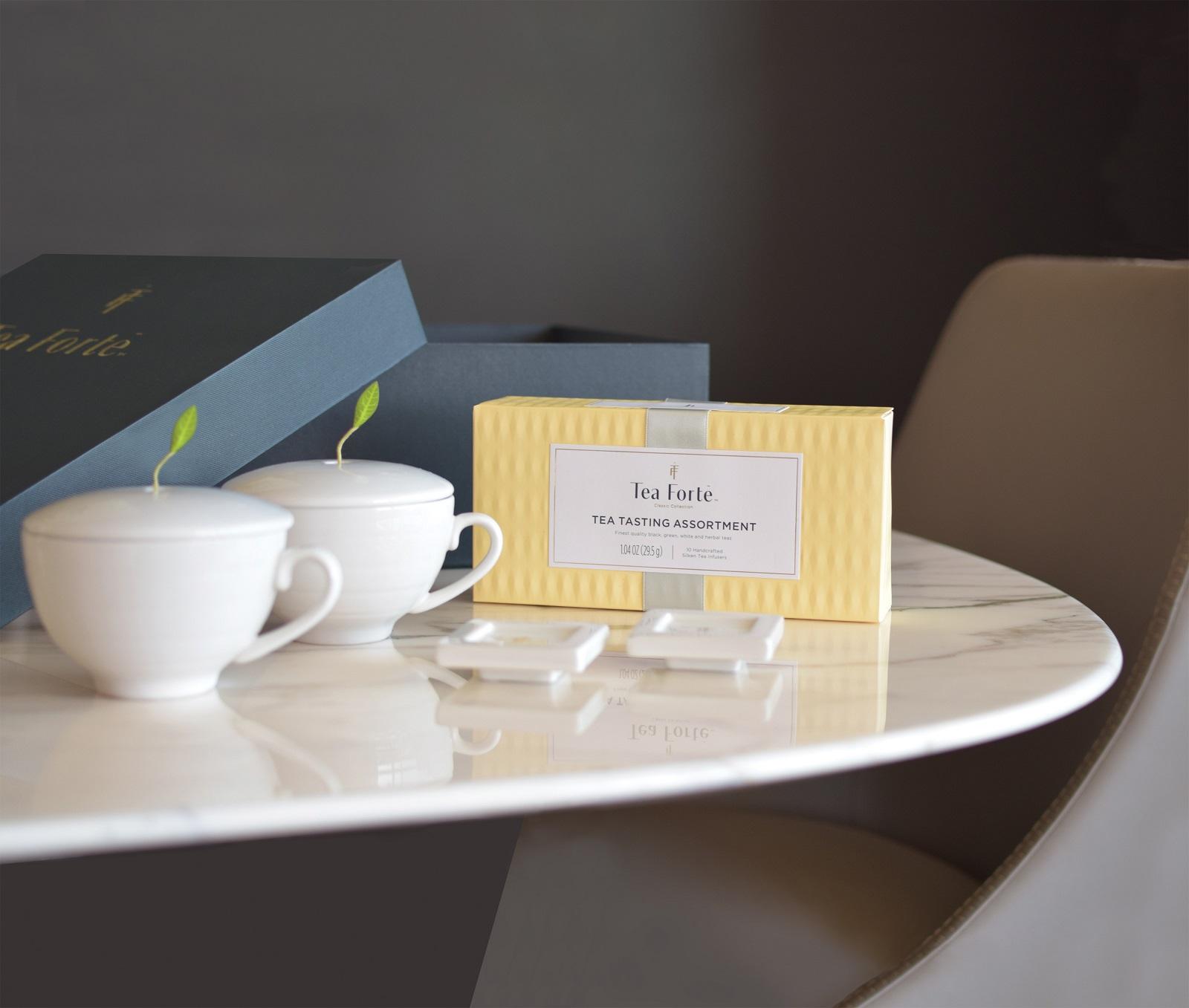 Tea Forte 雙人分享 茶品茶具禮盒 Tea Duet Gift Set