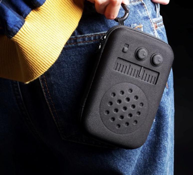 天晴設計 音浪系列 收音機造型收納盒