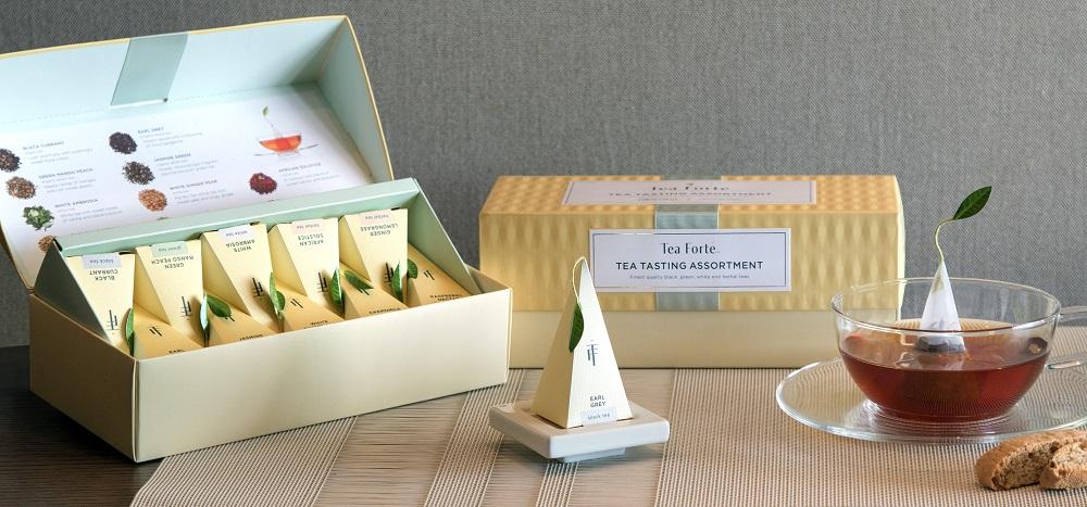 Tea Forte 20入金字塔型絲質茶包 - 伯爵紅茶 Presentation Box - Earl Grey