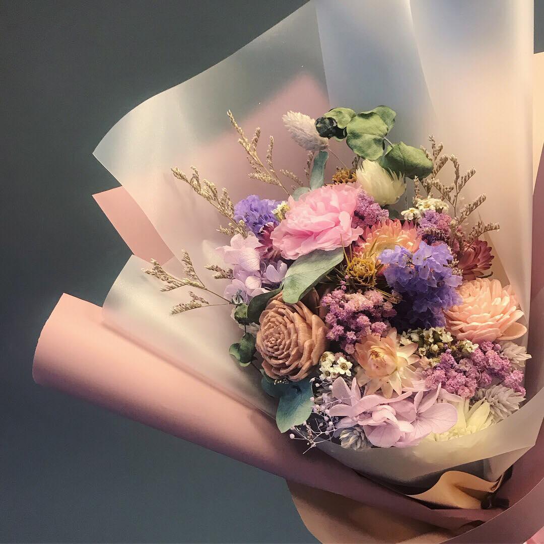 Savour Flower 青春逝去卻最自然美好乾燥花束