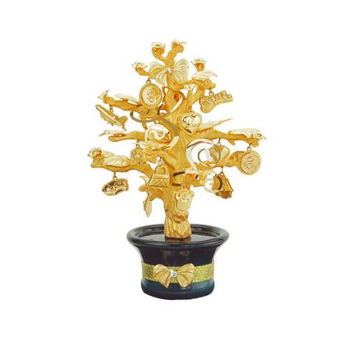 凱馨 金箔幸福許願樹