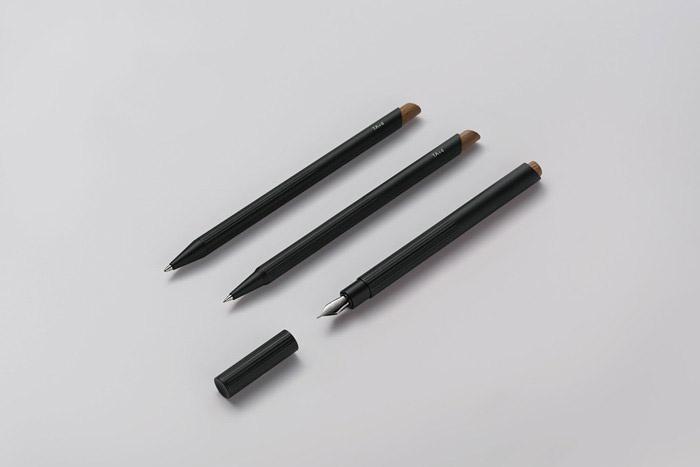 TA+d  燻竹鋼筆 黑