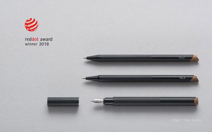 TA+d  燻竹自動鉛筆 黑