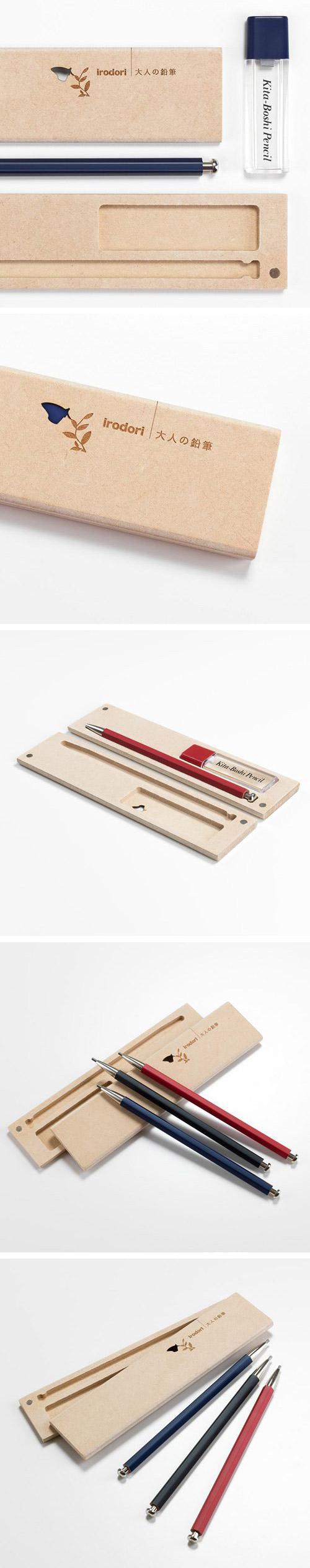 北星大人鉛筆 彩 木質筆盒組 藍色