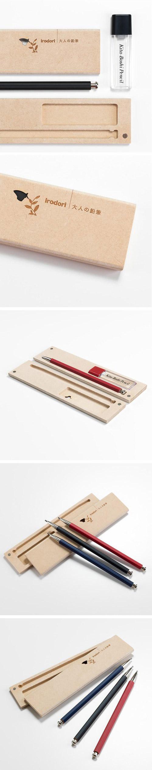 北星大人鉛筆 彩 木質筆盒組 黑色