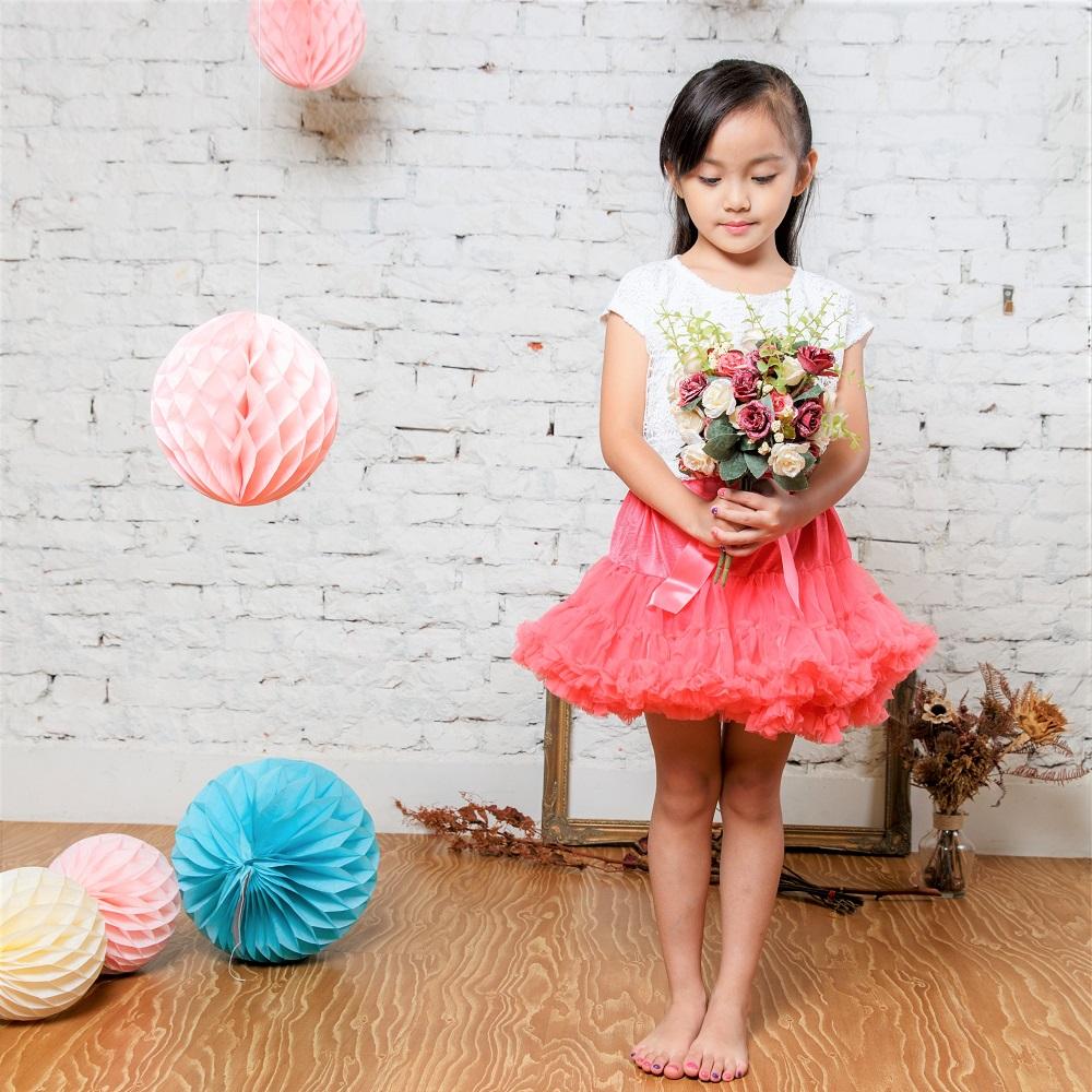 日安朵朵 女嬰童蓬蓬裙夢幻禮盒 - 薔薇公主 7-8歲(120cm)[預購]