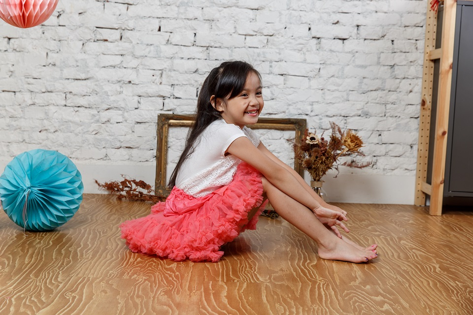 日安朵朵 女嬰童蓬蓬裙夢幻禮盒 - 薔薇公主 8-9歲(130cm)[預購]