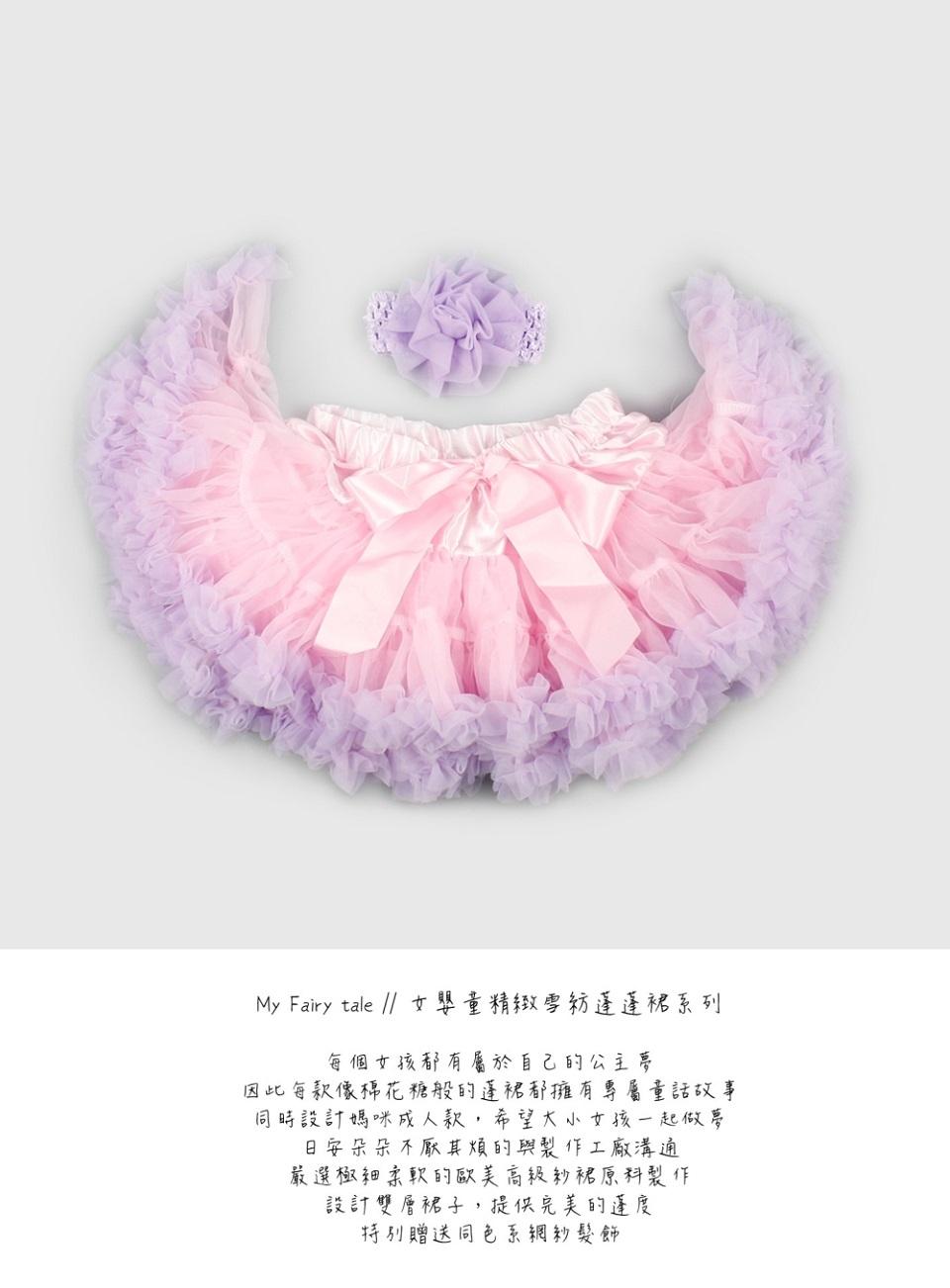 日安朵朵 女嬰童蓬蓬裙夢幻禮盒 - 拇指姑娘 6-7歲(110cm)[預購]