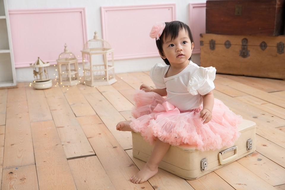 日安朵朵 女嬰童蓬蓬裙夢幻禮盒 - 玫瑰石英 8-9歲(130cm)[預購]