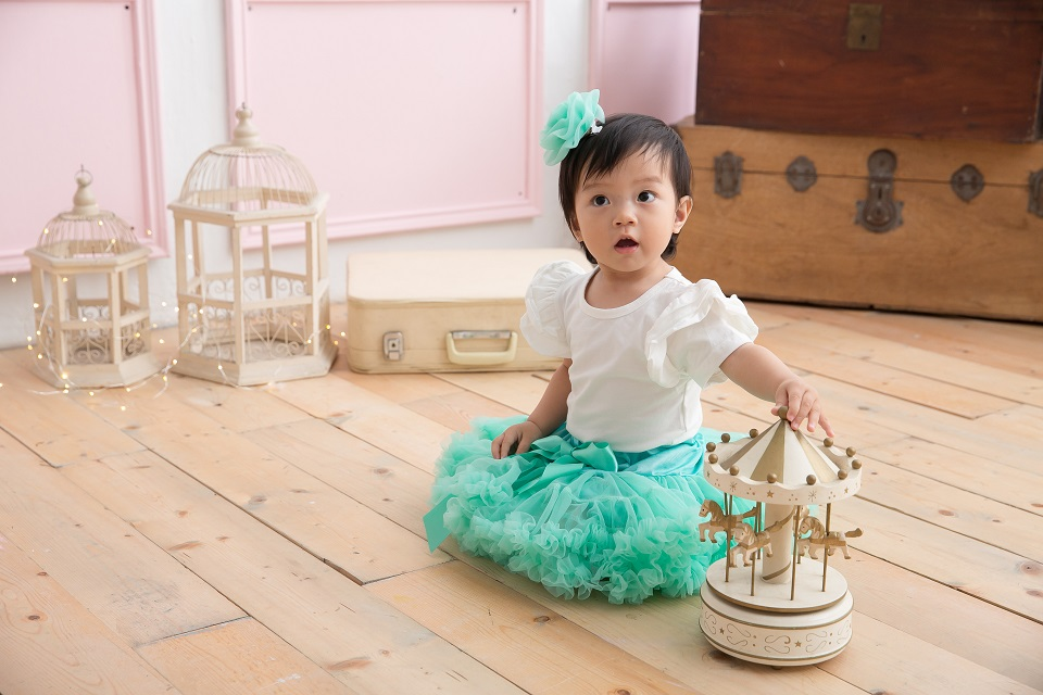 日安朵朵 女嬰童蓬蓬裙夢幻禮盒 - 小美人魚 4-6歲(100cm)