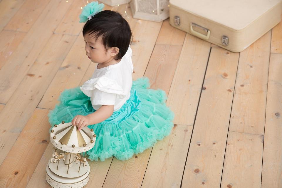 日安朵朵 女嬰童蓬蓬裙夢幻禮盒 - 小美人魚 2-4歲(90cm)
