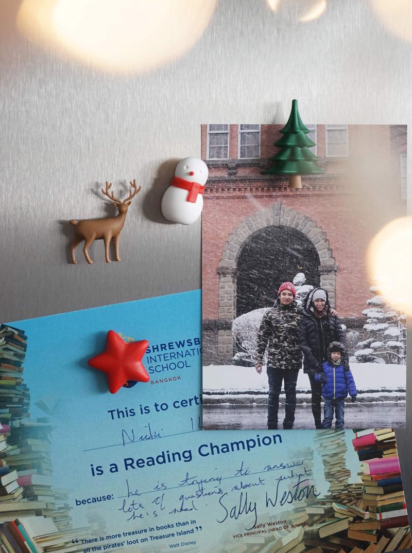 QUALY 聖誕冬季願望磁鐵