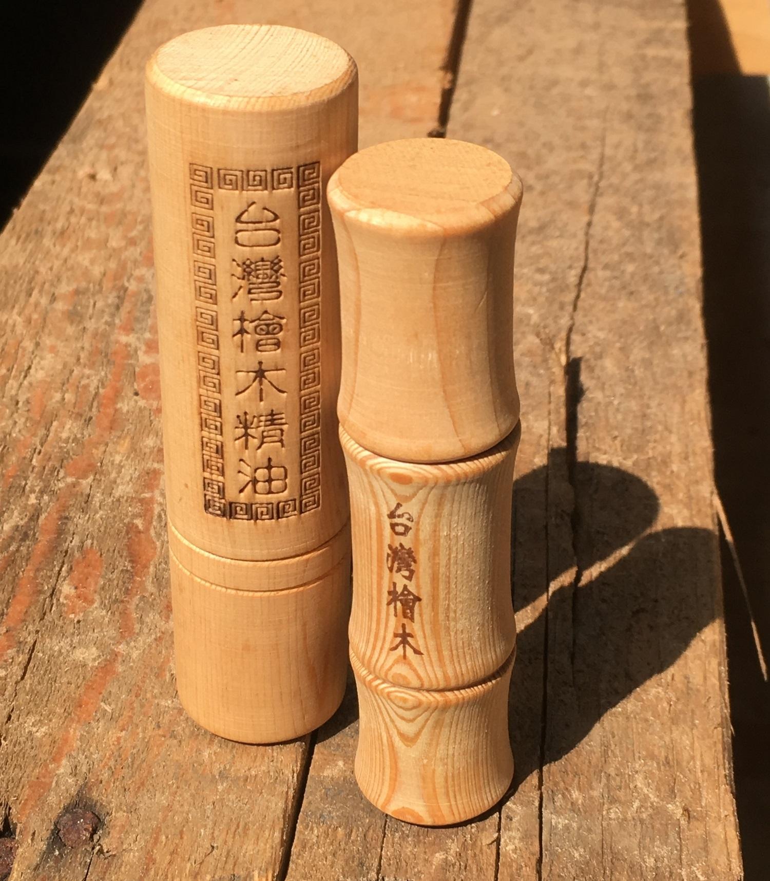 木城工坊 檜木精油滾珠瓶 10ml