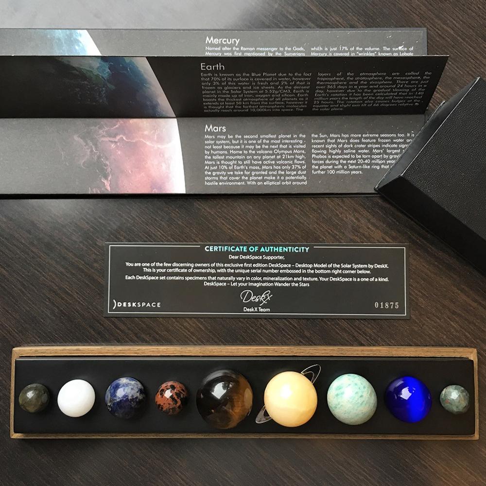 香港 DeskSpace 宇宙神秘力量 星空寶石