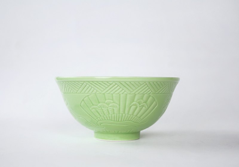 集瓷 cocera 【丹青燒】復刻丹青碗
