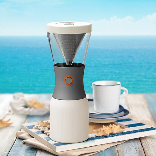 加拿大 Asobu Cold Brew 冷萃咖啡壺 白色