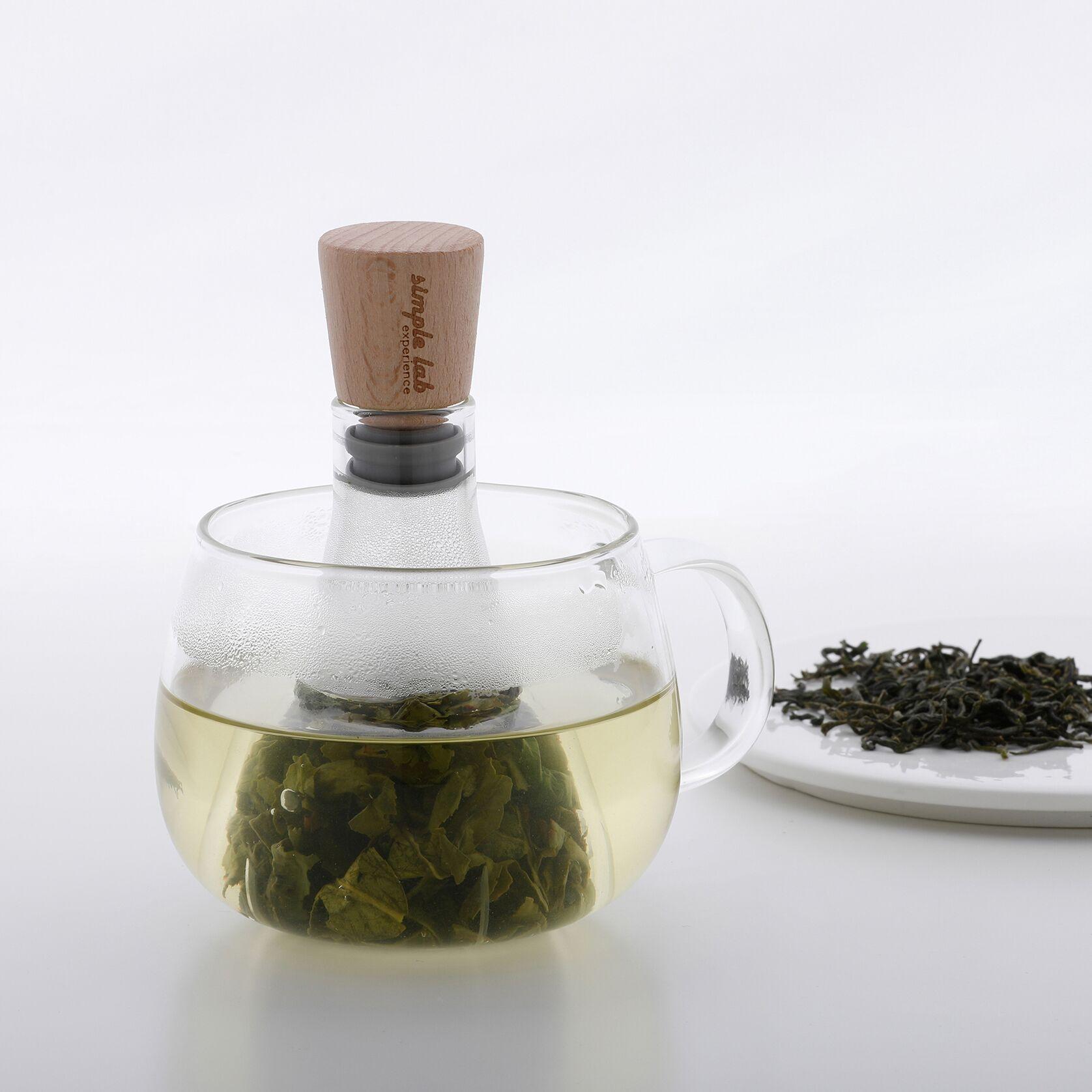 香港 SIMPLE LAB FLASK+ 燒瓶泡茶器