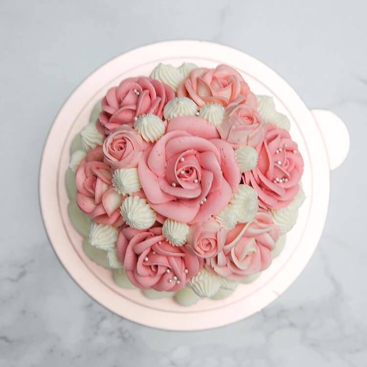 Felicitas Pâtissérie 4吋小捧花蛋糕