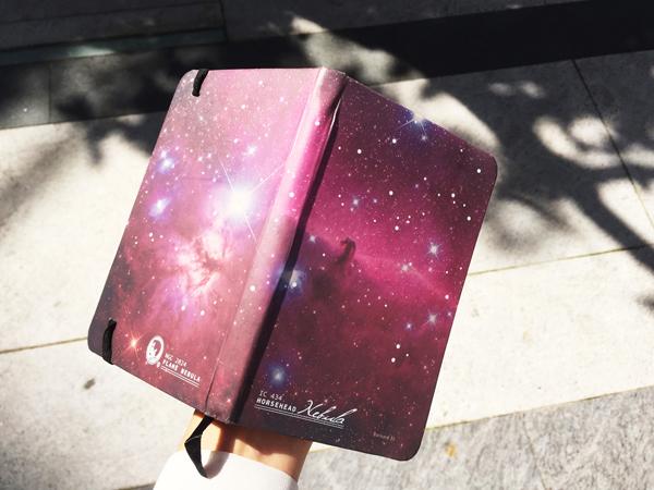 賽先生科學工廠 星雲感溫筆記本