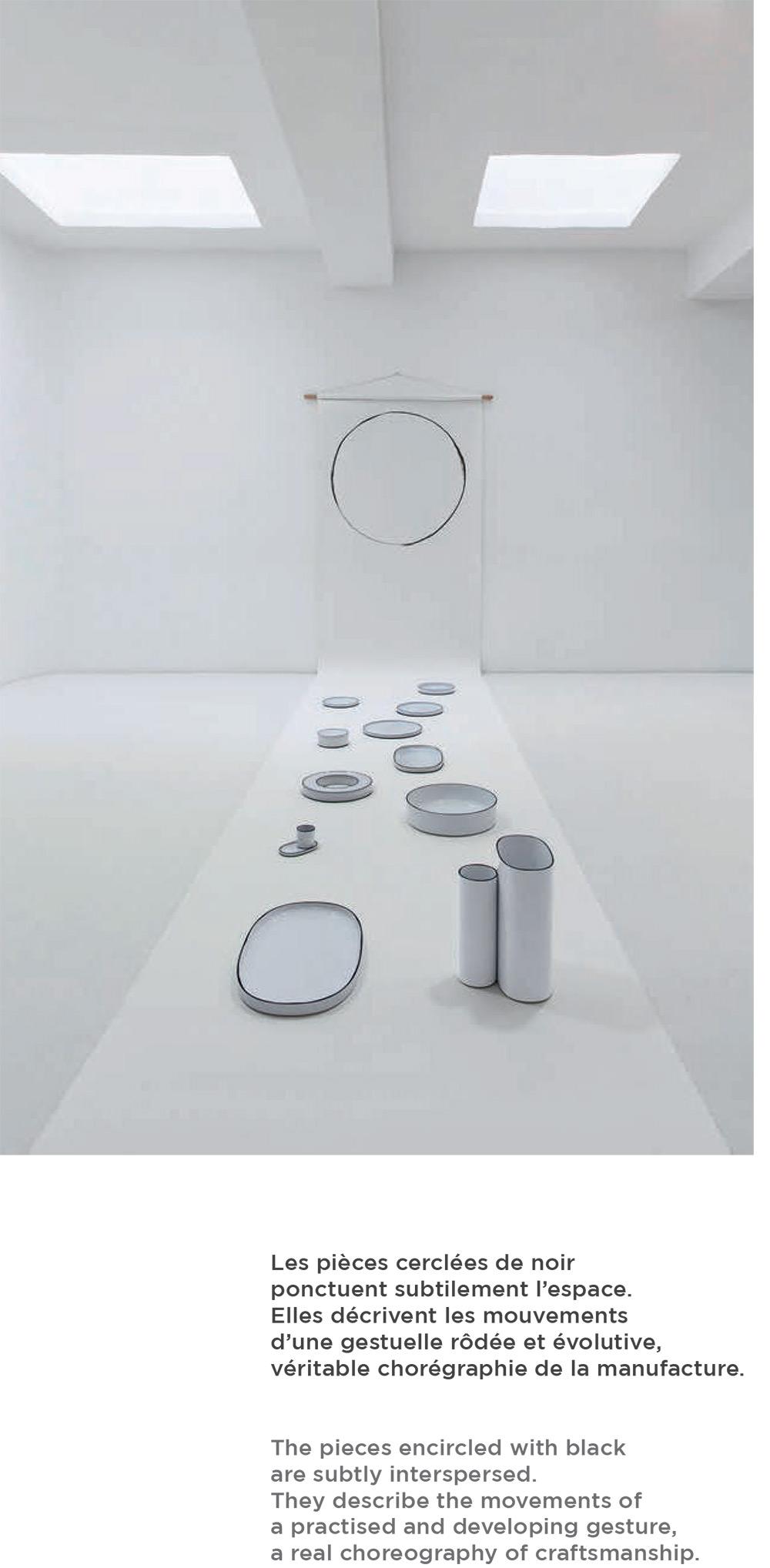 法國 Revol CARACTÈRE炭色系列陶瓷杯盤-白