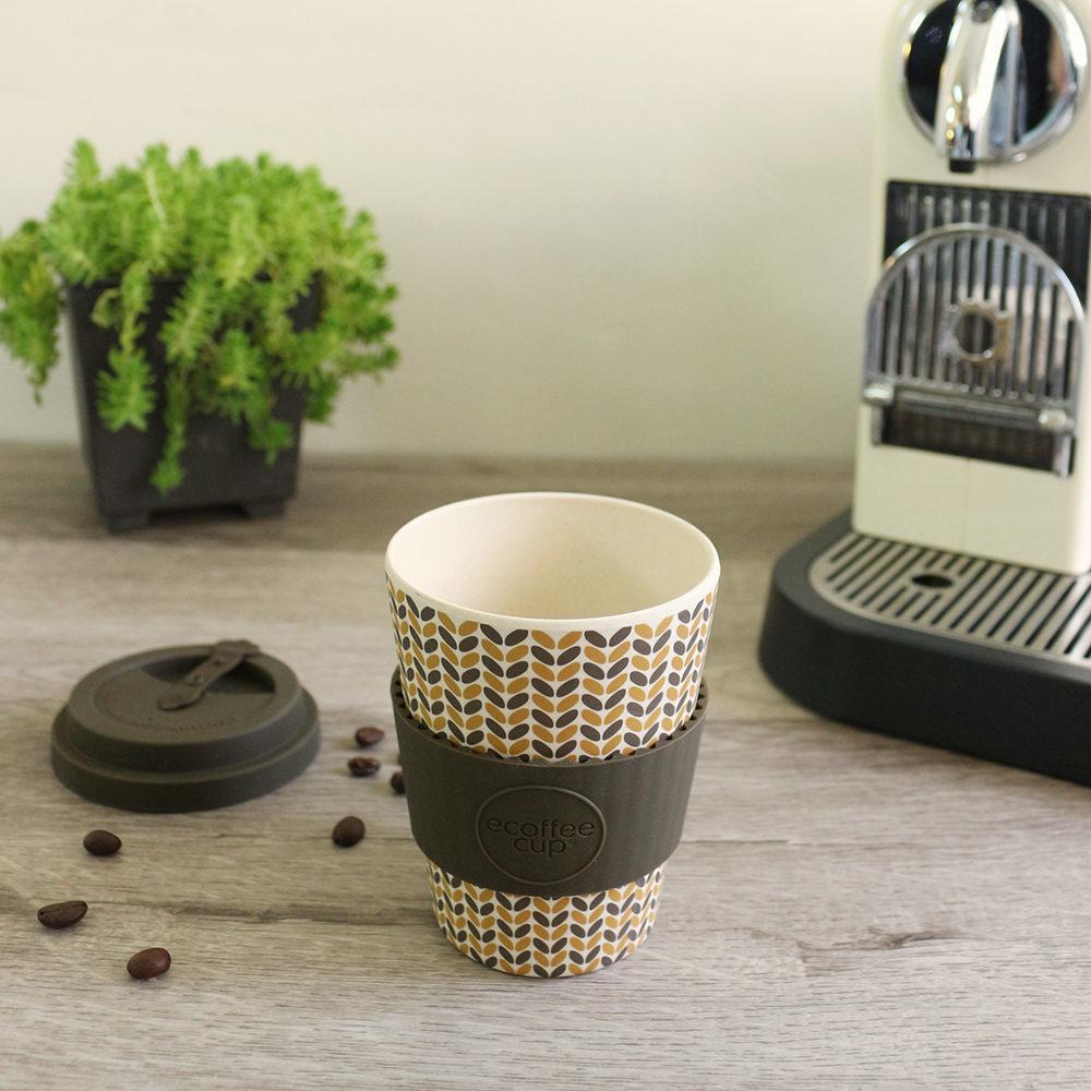 英國Ecoffee Cup 環保隨行杯340ml-黃金稻穗