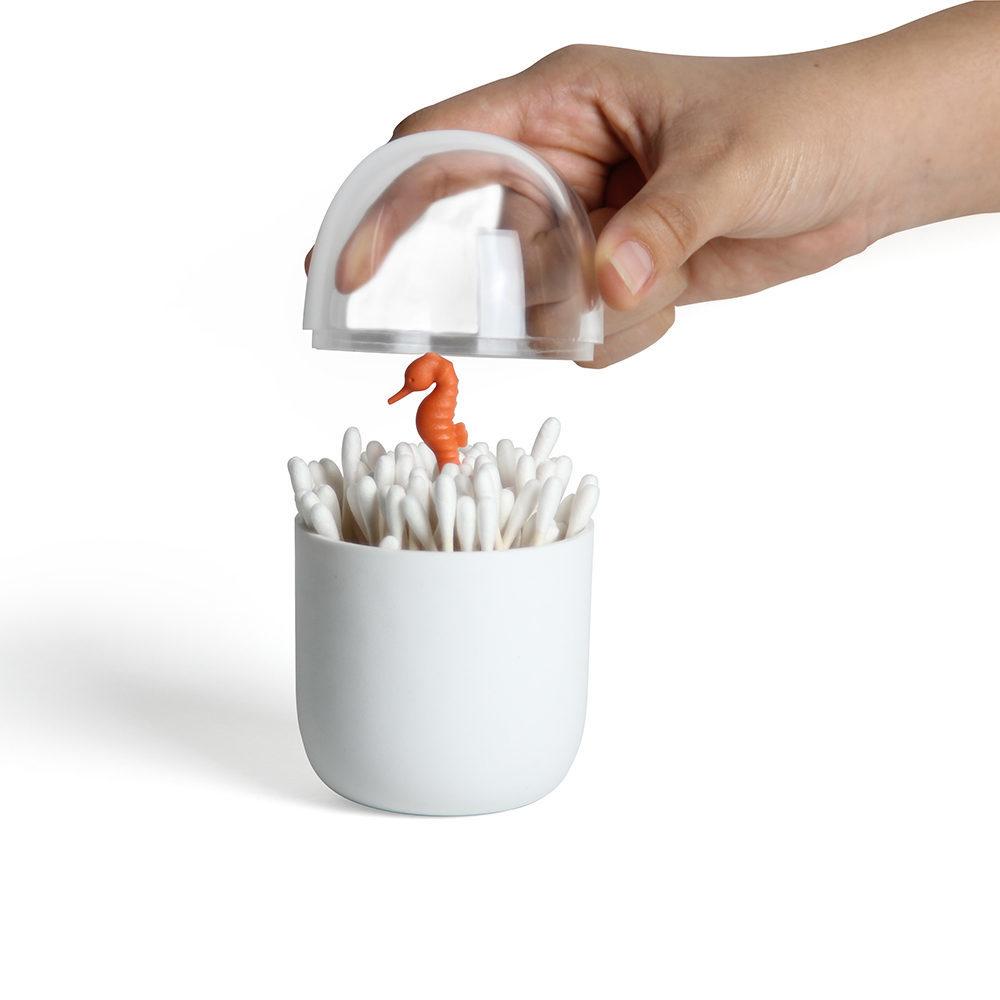 QUALY 棉花棒罐(搶救海馬)