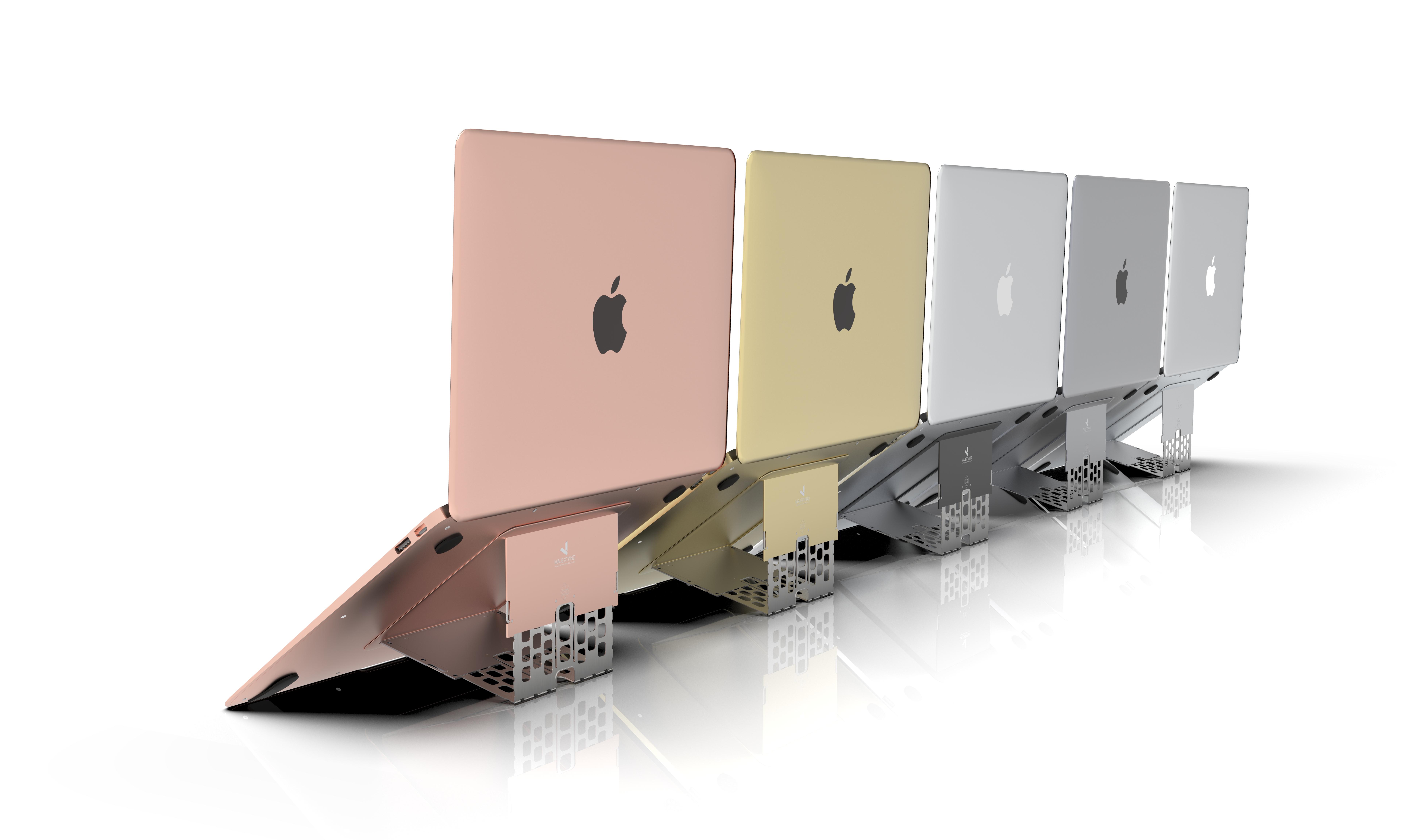 Majextand 世界最輕薄護頸筆電架-五組(五色任選)