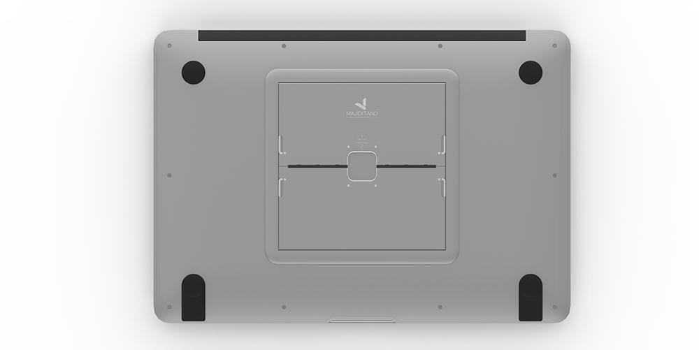Majextand 世界最輕薄護頸筆電架-太空灰色