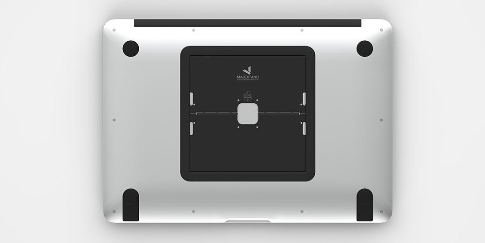 Majextand 世界最輕薄護頸筆電架-三組(五色任選)
